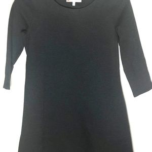 JUDE CONNALLY PONTE CHARCOAL GRAY DRESS/TUNIC